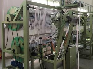 Finishing Machines for elastic rigid narrow fabric